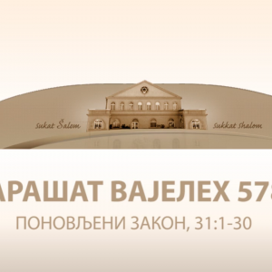 VAJELEH 5782